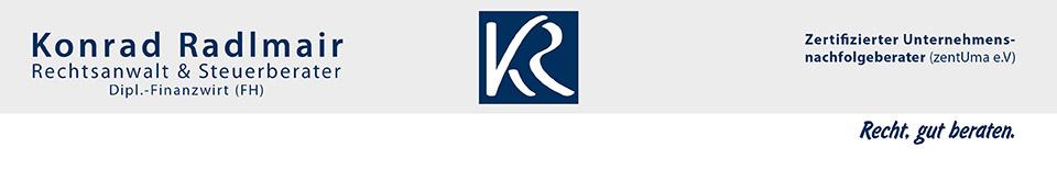 Rechtsanwalt und Steuerberater Konrad Radlmair